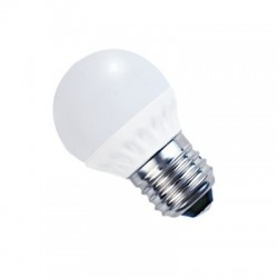 BOMBILLAS LED ESFERICA E27 de 5W