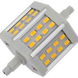BOMBILLAS LED R7s  78mm de 6W