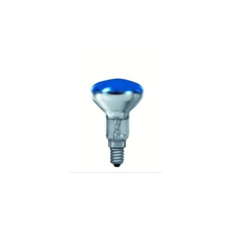 Bombilla reflectora r50 40w azul E14