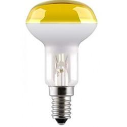 Bombilla reflectora r50 40w amarilla E14