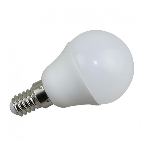 BOMBILLAS LED ESFERICA E14 de 5W