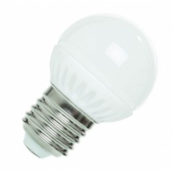 BOMBILLAS LED ESFERICA E27 de 3W