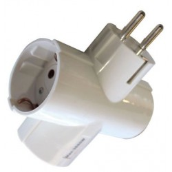 ADAPTADOR TRIPLE SALIDA