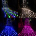 MALLA LED DECORATIVA NAVIDAD RGB