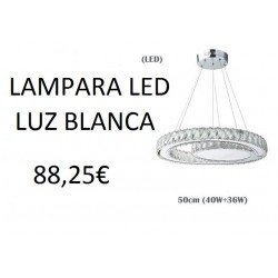 Lampara LED Colgante 76w 6000k