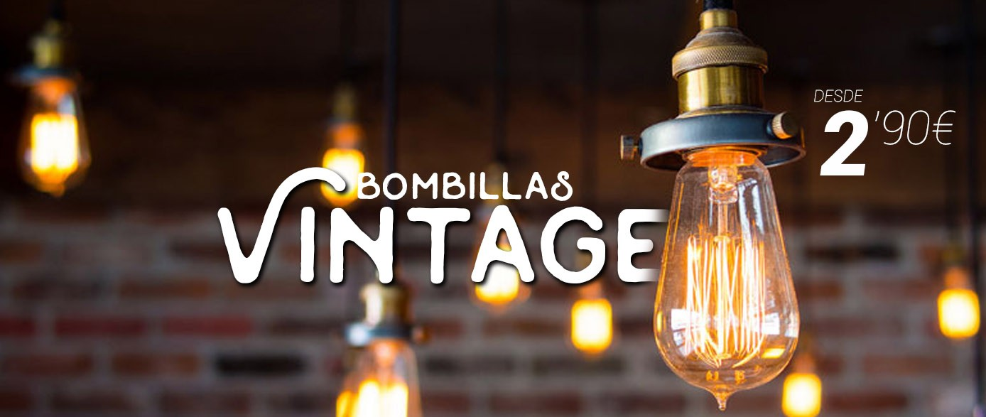 Bombillas vintage